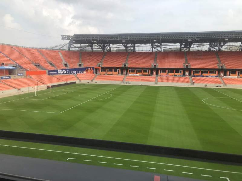 Seating view for BBVA Stadium Section PC6