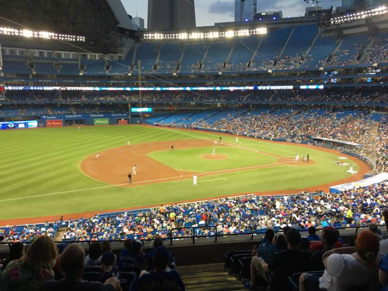 Seating view for Rogers Centre Section 232l Row 9 Seat 101