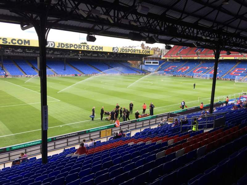 Seating view for Selhurst Park Section A Row 24 Seat 20