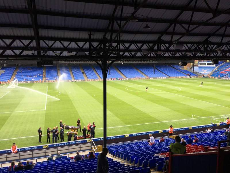 Seating view for Selhurst Park Section C Row 29 Seat 57