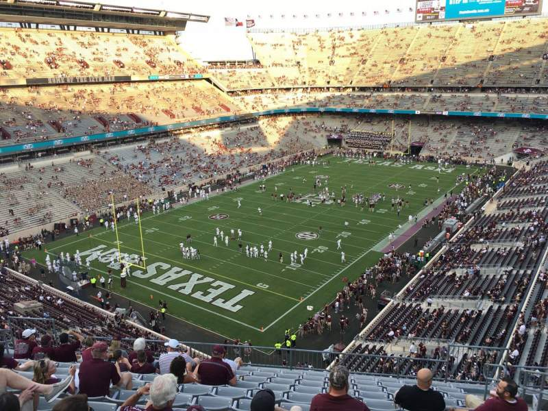 Seating view for Kyle Field Section 315 Row 12 Seat 5