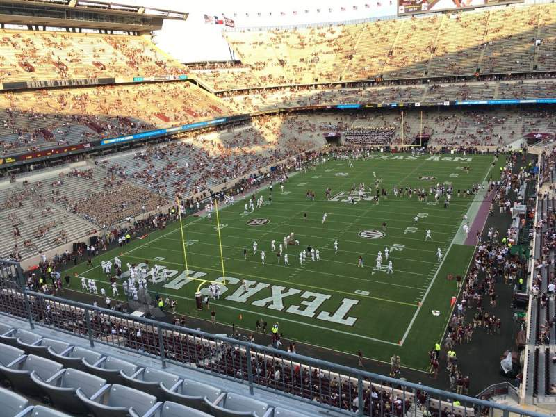 Seating view for Kyle Field Section 317 Row 5 Seat 4