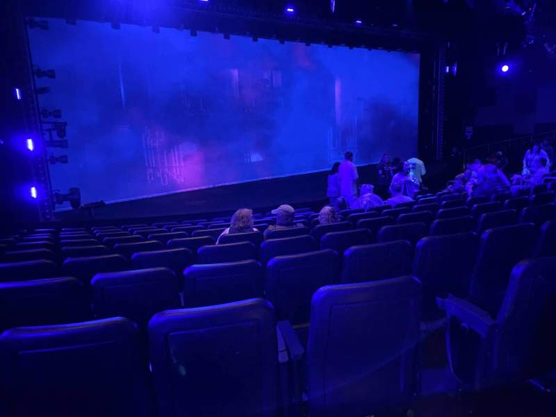 Seating view for Blue Man Group Theater Section 201 Row Aa Seat 8