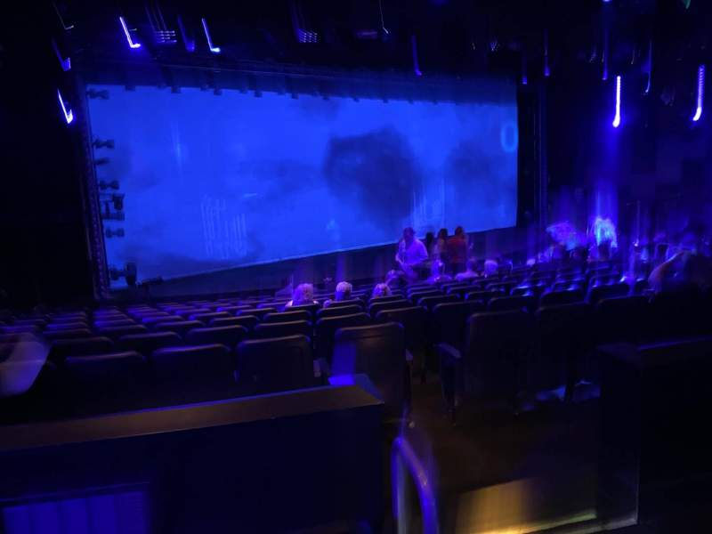 Seating view for Blue Man Group Theater Section 202 Row Cc Seat 10