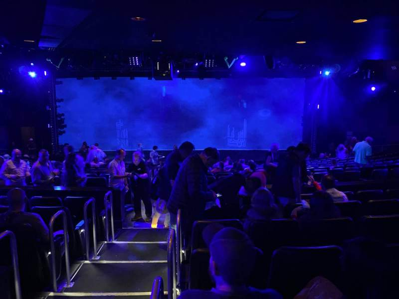 Seating view for Blue Man Group Theater Section 203 Row Gg Seat 30