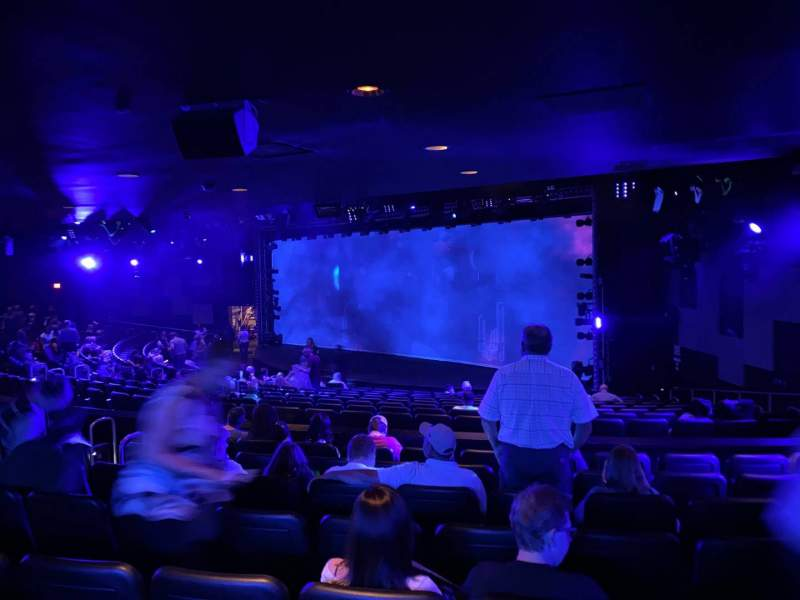Seating view for Blue Man Group Theater Section 204 Row Hh Seat 61