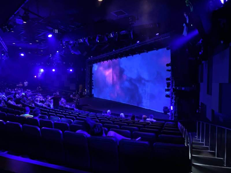 Seating view for Blue Man Group Theater Section 204 Row Bb Seat 63