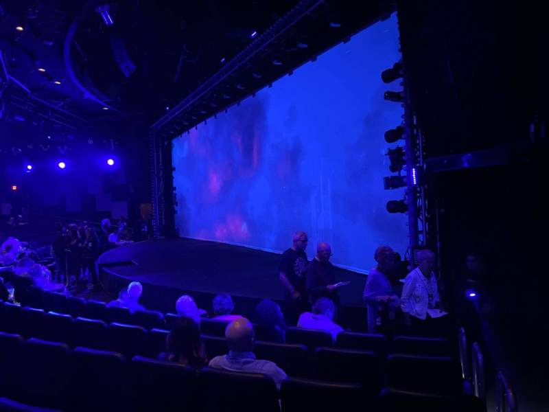 Seating view for Blue Man Group Theater Section 103 Row F Seat 60