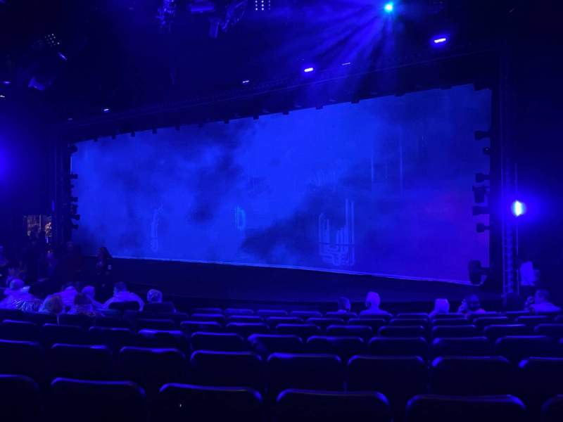 Seating view for Blue Man Group Theater Section 103 Row H Seat 40