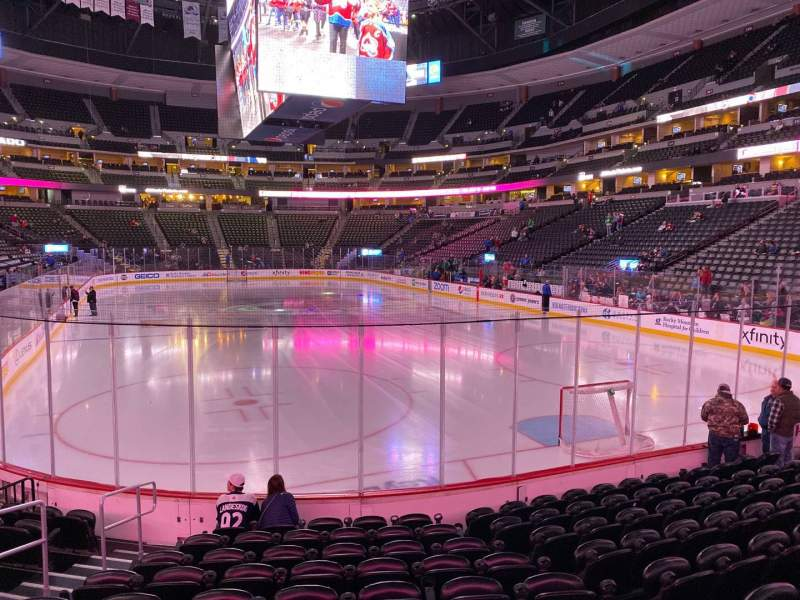 Seating view for Pepsi Center Section 116 Row 10 Seat 5