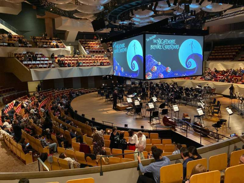 Seating view for Boettcher Concert Hall Section Dress Circle 1 Row E Seat 9
