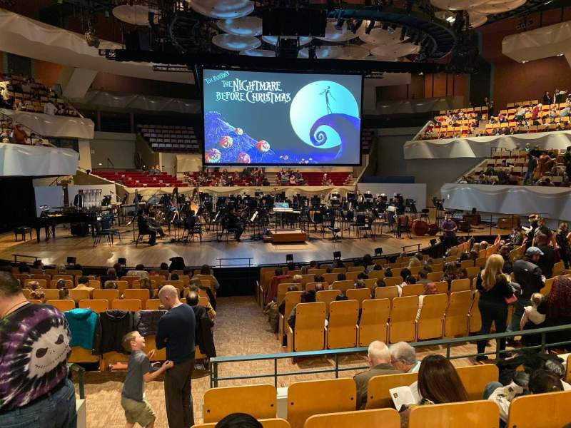 Seating view for Boettcher Concert Hall Section Orch 2 Row N Seat 40