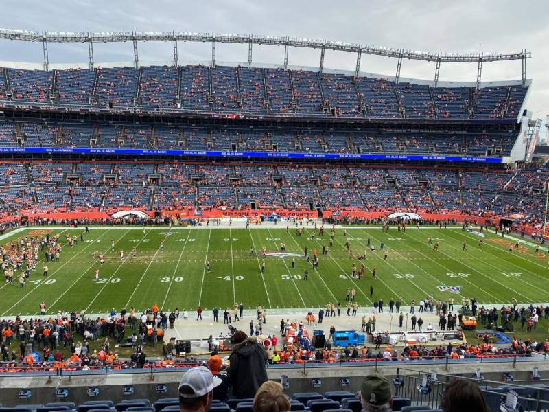 Seating view for Empower Field at Mile High Stadium Section 310 Row 9 Seat 9