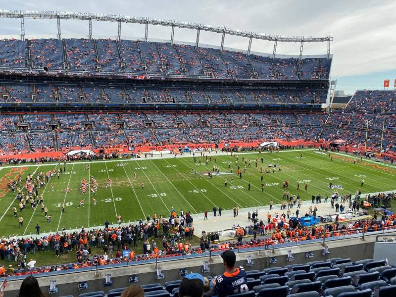 Seating view for Empower Field at Mile High Stadium Section 312 Row 8 Seat 8