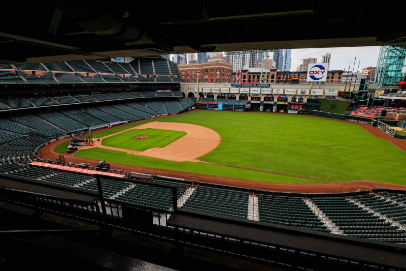 Seating view for Minute Maid Park Section STE 42