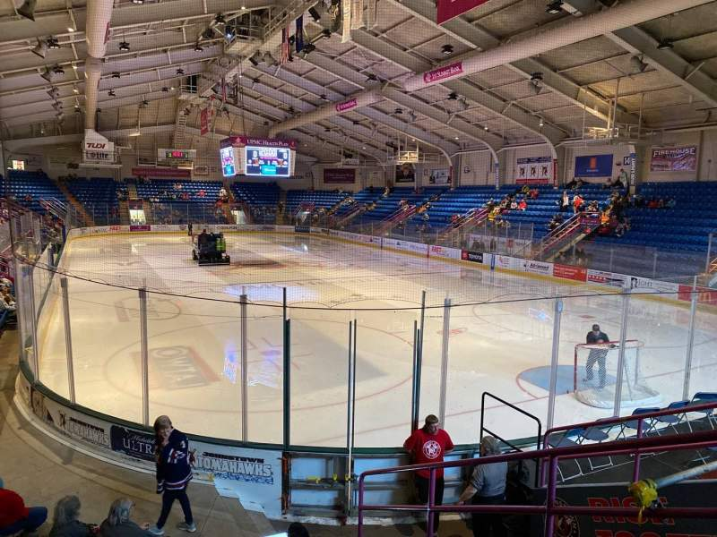 Seating view for 1st Summit Arena Section 8 Row H Seat 2
