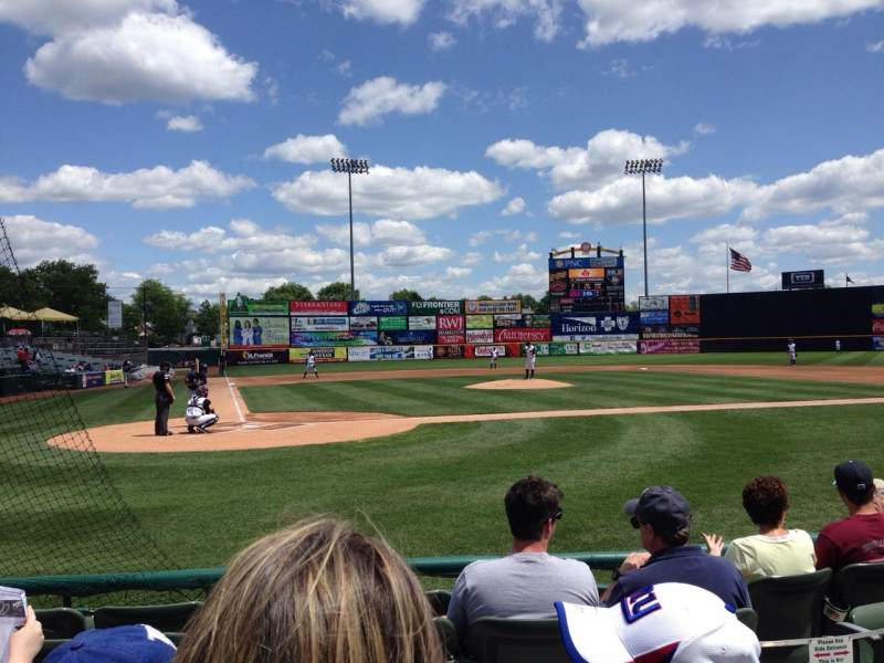 Seating view for Arm & Hammer Park Section 109 Row D Seat 7