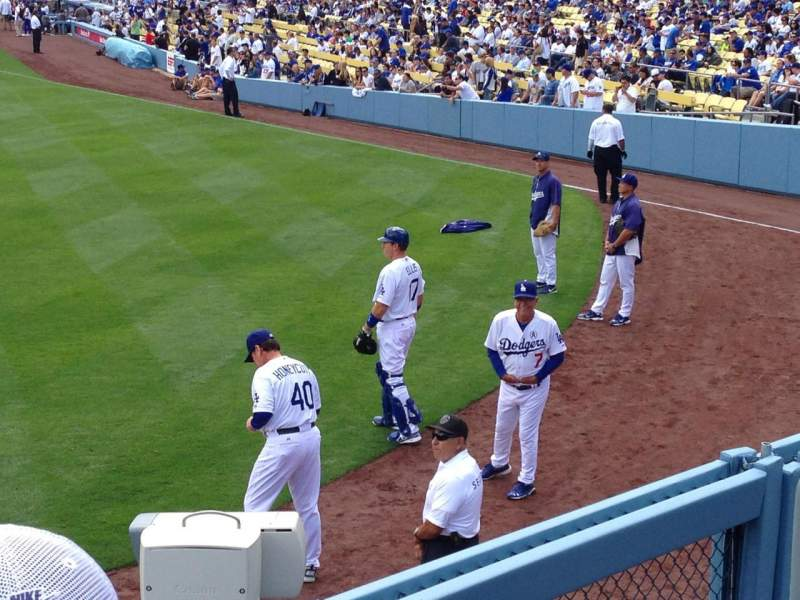 Seating view for Dodger Stadium Section 301PL Row B Seat 6