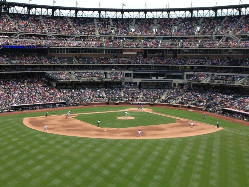 Seating view for Citi Field Section 338 Row 12 Seat 21