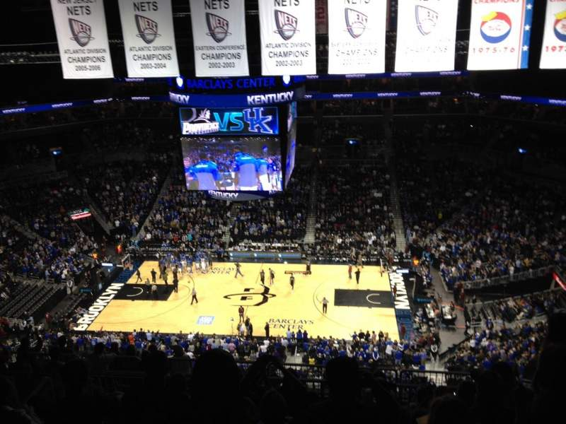 Seating view for Barclays Center Section 223 Row 12 Seat 15