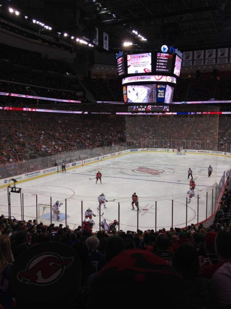 Seating view for Prudential Center Section 4 Row 21 Seat 19