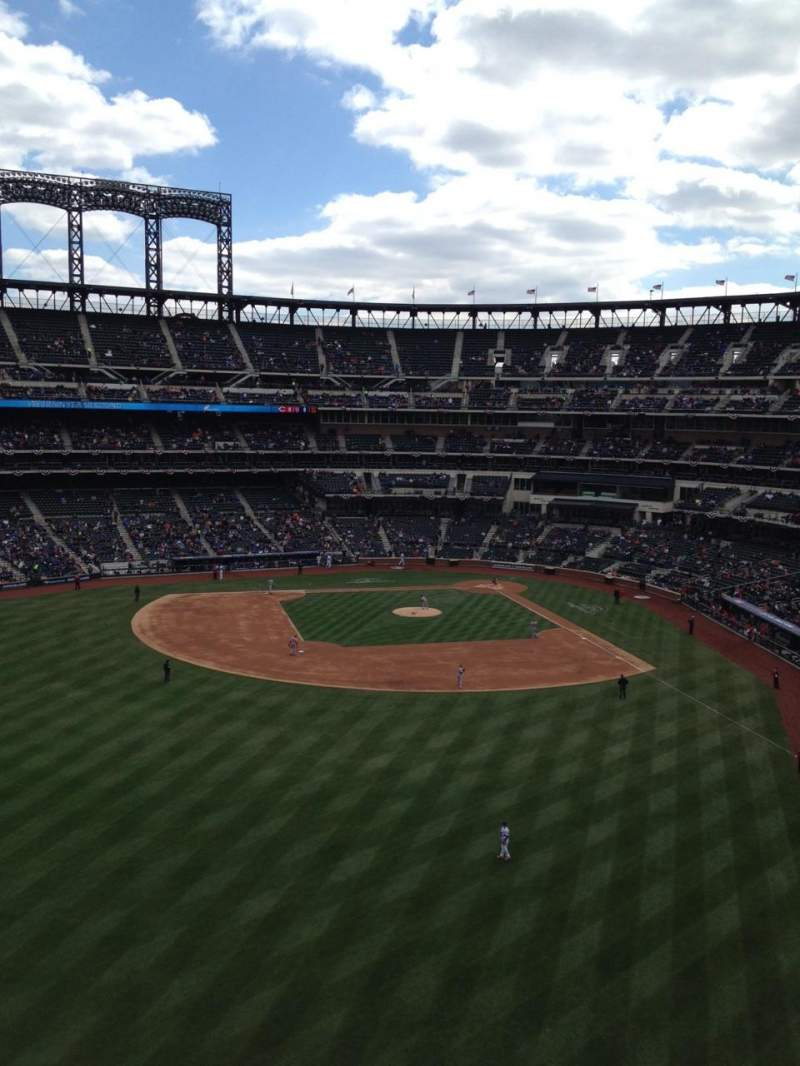 Seating view for Citi Field Section 434 Row 1 Seat 1