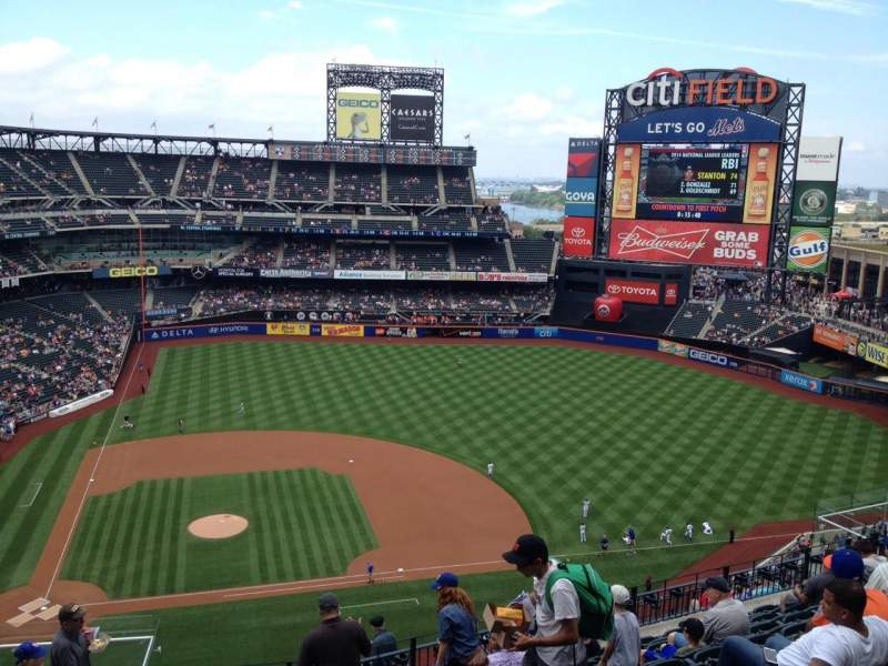 Seating view for Citi Field Section 508 Row 10 Seat 4