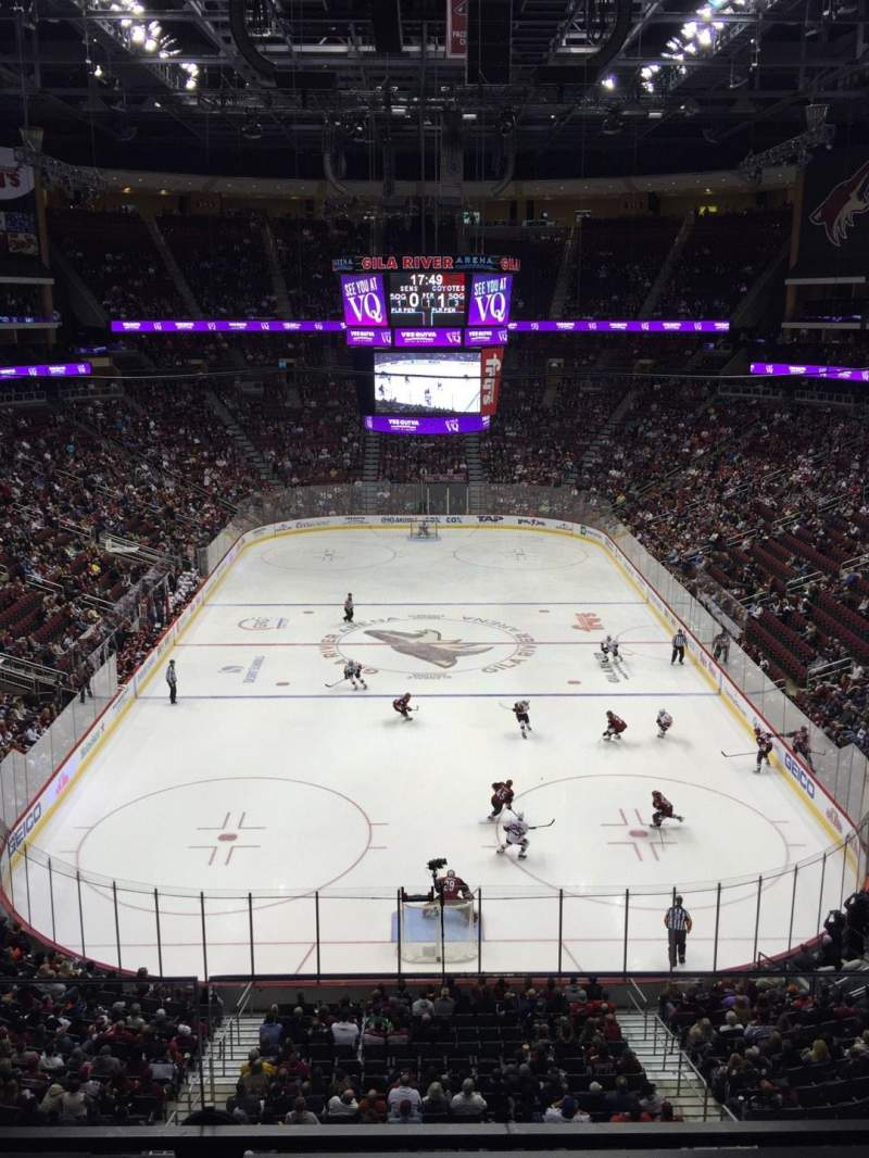 Seating view for Gila River Arena Section 223 Row B Seat 9