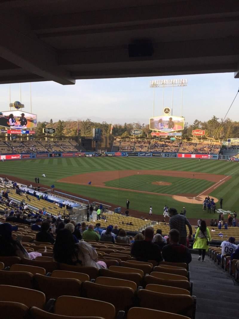 Dodger Stadium, section: 113LG, row: T, seat: 1