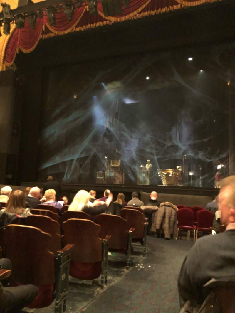 Seating view for Detroit Opera House Section Main Floor 4 Row H Seat 102