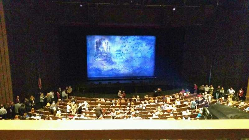 Seating view for Chapman Music Hall - Tulsa Performing Arts Center Section MLC Row H Seat 9