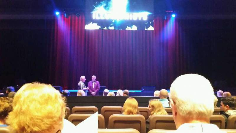 Seating view for Chapman Music Hall - Tulsa Performing Arts Center Section OL Row E Seat 102