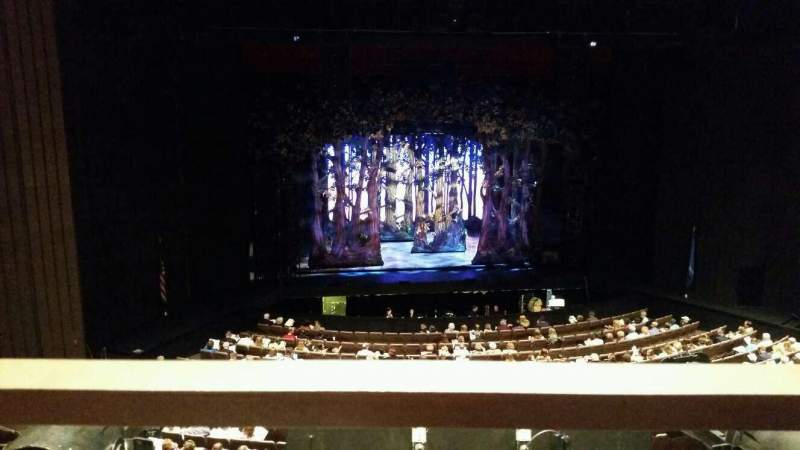 Chapman Music Hall - Tulsa Performing Arts Center, section: MLC, row: H, seat: 10