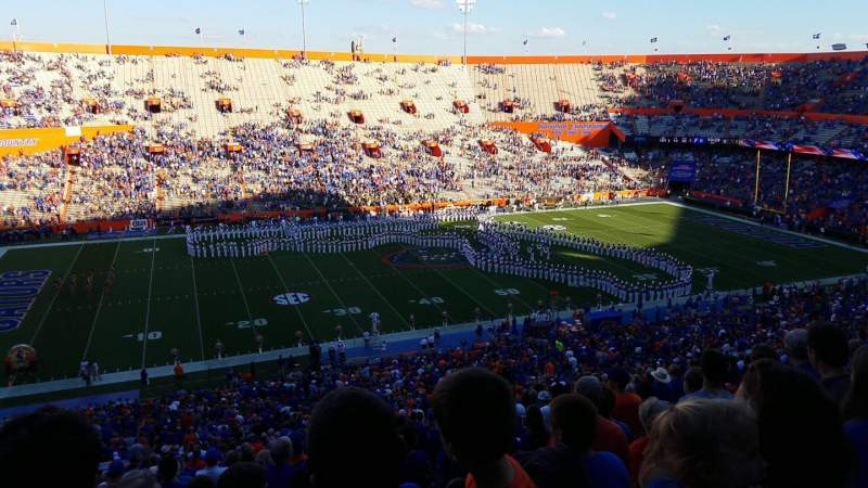 Seating view for Ben Hill Griffin Stadium Section 17 Row 74 Seat 21