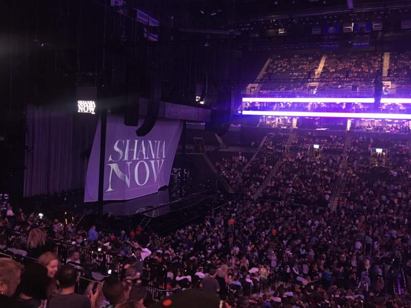 Barclays Center, section: 124, row: 9, seat: 12