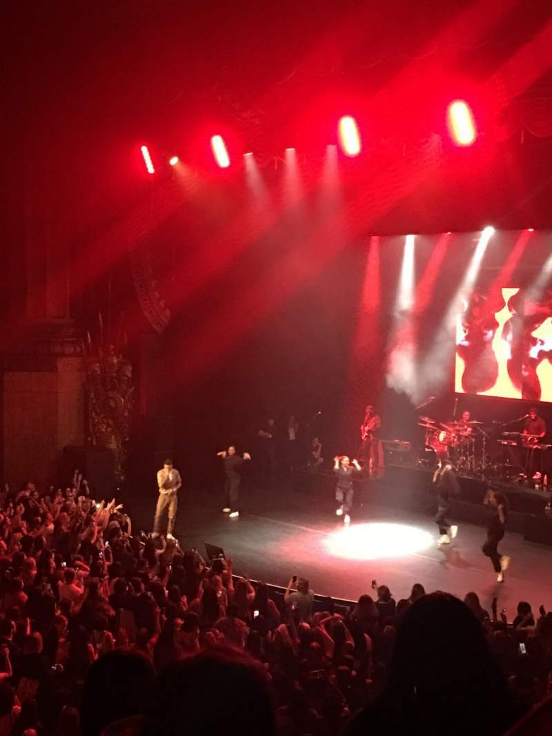Seating view for Beacon Theatre Section Lower Balcony 6 Row D Seat 50