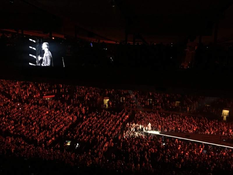 Madison Square Garden, section: 212, row: B25, seat: 1