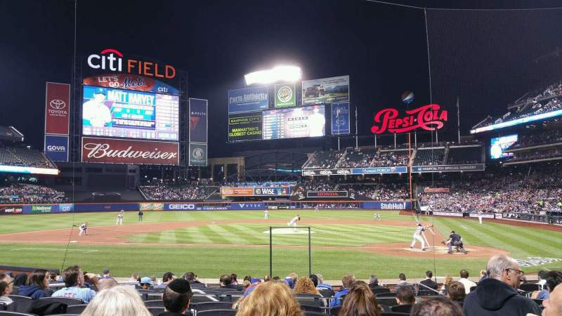Seating view for Citi Field Section 18 Row 14 Seat 7