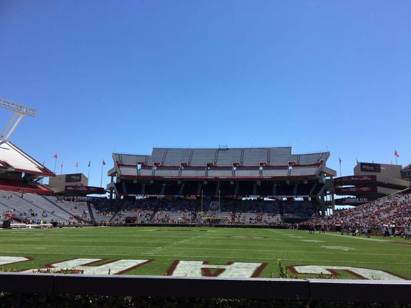 Seating view for Williams-Brice Stadium Section 32 Row 3 Seat 6