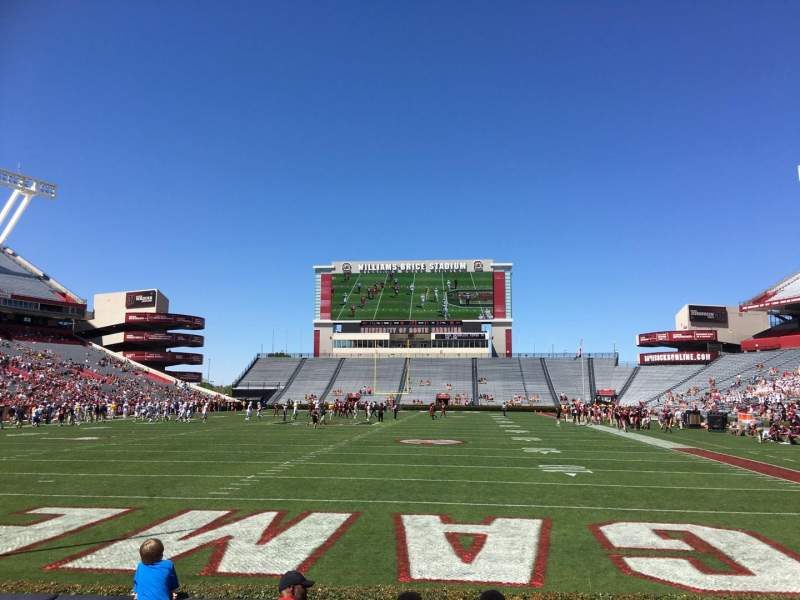 Seating view for Williams-Brice Stadium Section 13 Row 5 Seat 18