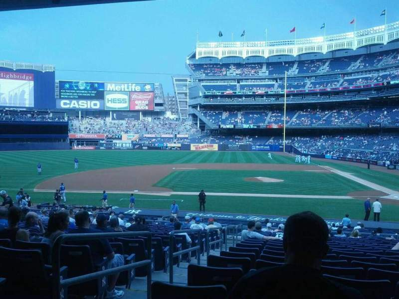 Seating view for Yankee Stadium Section 123 Row 29 Seat 14