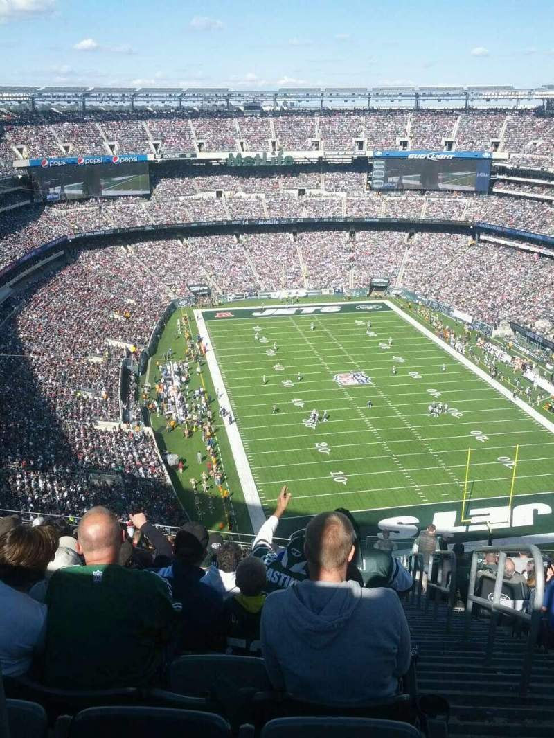 Seating view for MetLife Stadium Section 329 Row 26