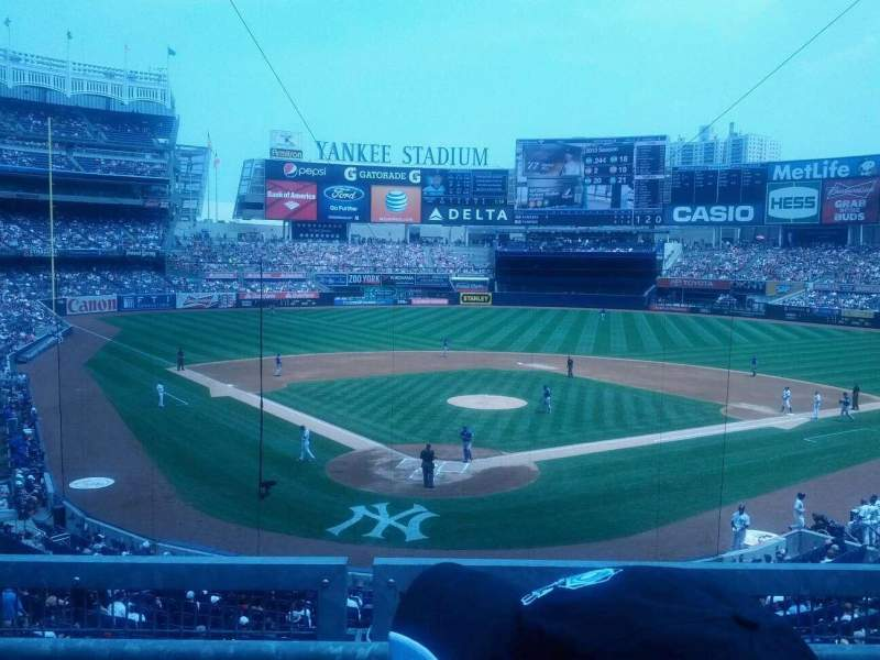 Seating view for Yankee Stadium Section 220A Row 2 Seat 5