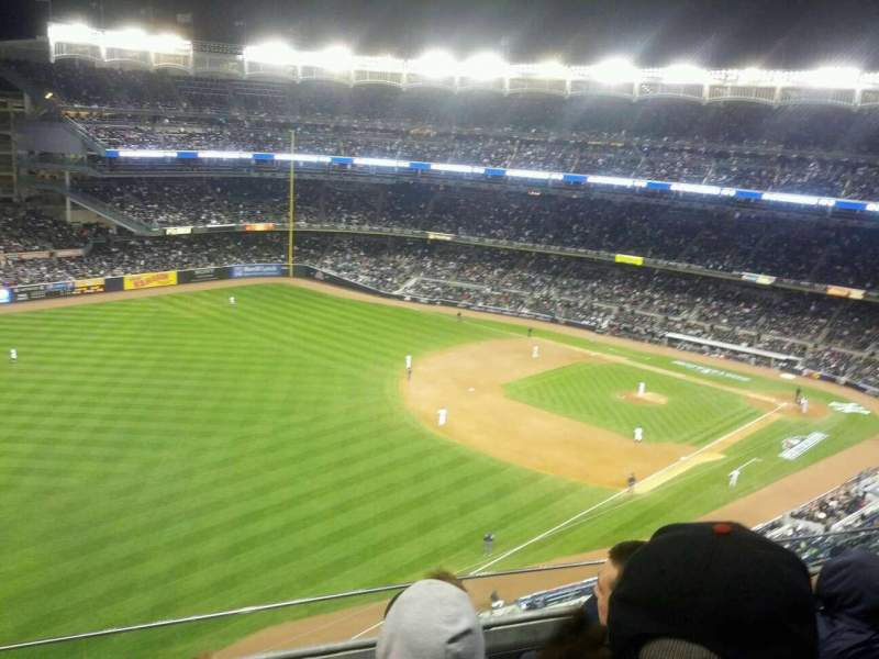 Seating view for Yankee Stadium Section 431a Row 4 Seat 14