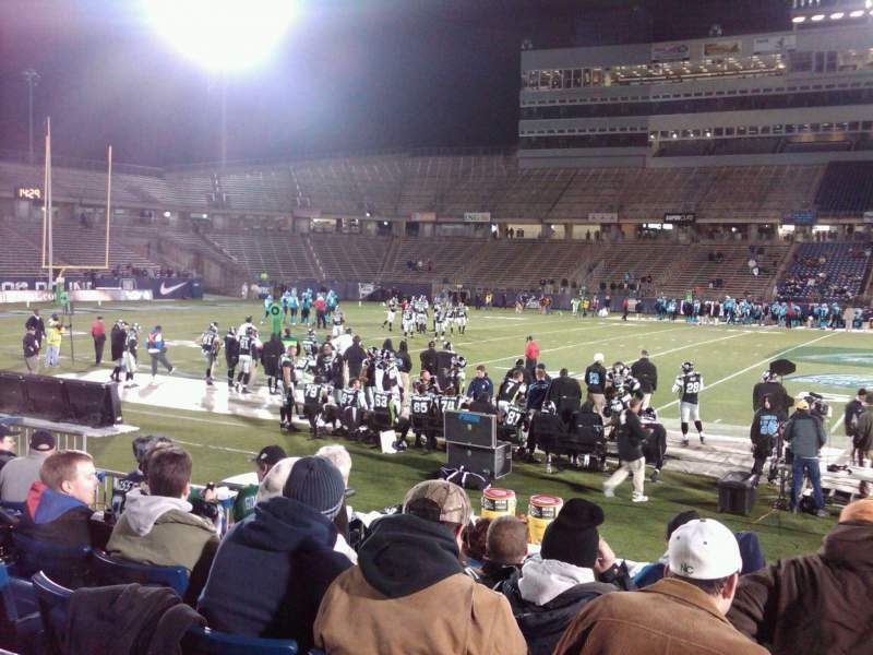 Seating view for Rentschler Field Section 121 Row 7 Seat 4