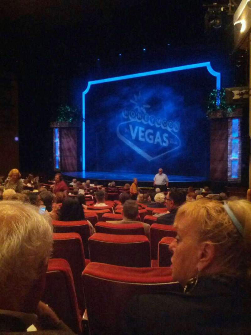 Seating view for Paper Mill Playhouse Section Orchestra 2 Row S Seat 28