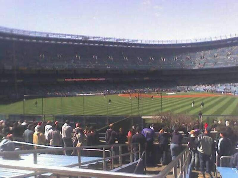Seating view for Old Yankee Stadium Section 55 Row 41 Seat 20