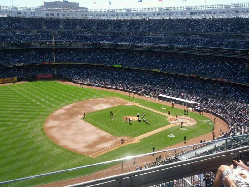 Seating view for Yankee Stadium Section 428 Row 3 Seat 6
