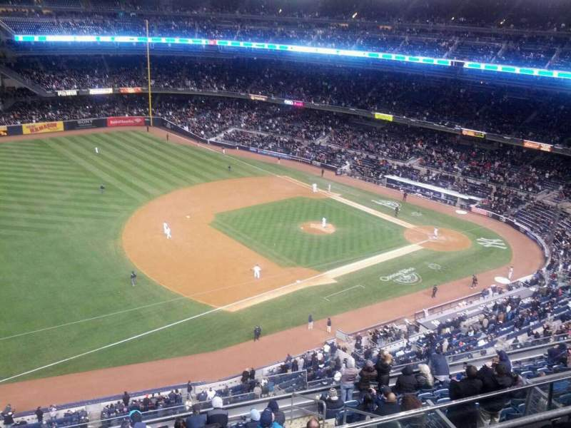 Seating view for Yankee Stadium Section 428 Row 4 Seat 6