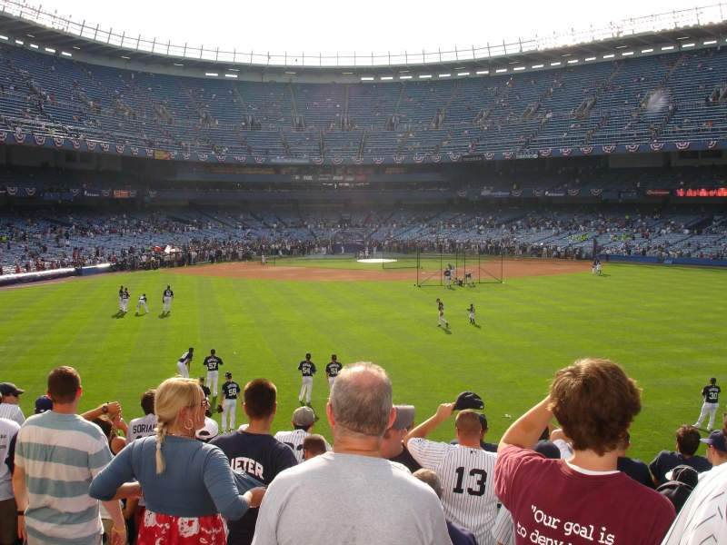 Seating view for Old Yankee Stadium Section 41 Row KK Seat 5